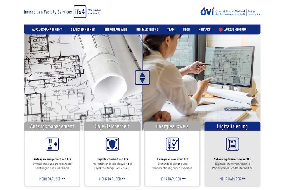 Soft-Relaunch IFS Webseite
